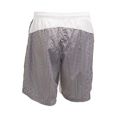 Topspin Limited Pro Shorts - Black White (Vichy Check) – Bild 3