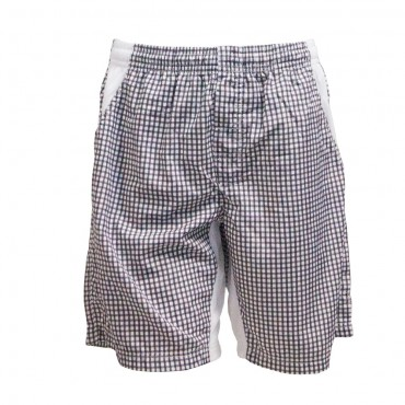 Topspin Limited Pro Shorts - Black White (Vichy Check) – Bild 2