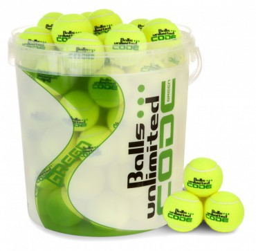 Balls Unlimited Code Green 60-Balls Bag + Ballbucket – Bild 1
