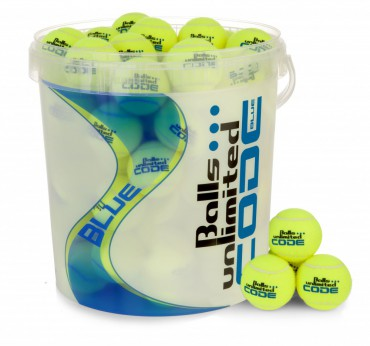 Balls Unlimited Code Blue 60-Balls Bag + Ballbucket – Bild 1