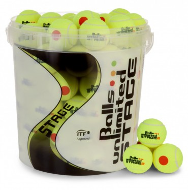 Balls Unlimited Stage 2 Tournament Pack of 60 + Ball Bucket – Bild 1